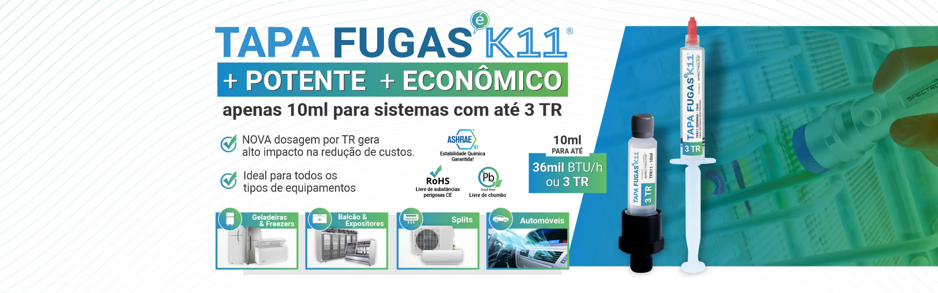 TAPA FUGAS K11®
