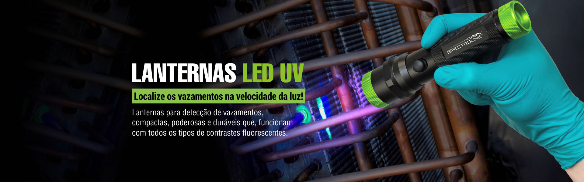 Lanternas LED UV